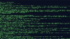 Source code crypto slow Stock Footage