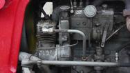 Stock Video Footage of diesel truck engine