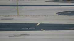 Airport Tarmac Plate - 2 - stock footage