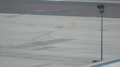 Airport Tarmac Plate - 3 - stock footage