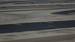 Airport Tarmac Plate - 1 - stock footage