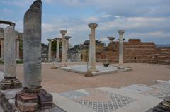 grave of st. john, ephesus - stock photo
