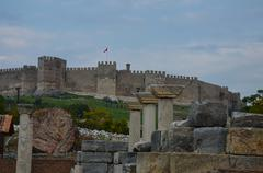 Fort of the crusaders, ephesus Stock Photos