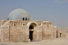 Stock Photo of umayyad palace gateway.
