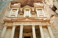 Stock Photo of the treasury, petra