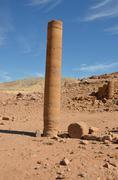 Pharaoh's column, petra Stock Photos