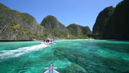 Stock Video Footage of Maya Bay