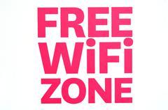Free wifi zone Stock Illustration