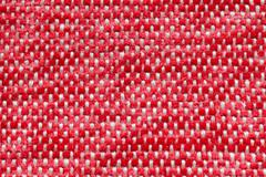 red fur and white strings - stock photo