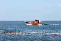 Boating in lebanon Stock Photos