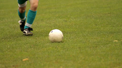 Football game, football match Stock Footage