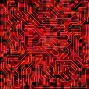 Circuit board - stock illustration