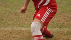 Football game, football match, football training Stock Footage