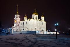 Assumption cathedral  at Vladimir Stock Photos