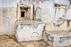 Altar in  Tarxien temples Stock Photos