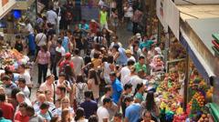 Municipal Market (Mercado Municipal) in Sao Paulo. Stock Footage