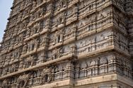 Gate tower gopuram Stock Photos
