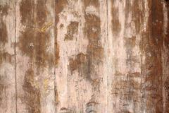 old brown wooden door as antique background - stock photo