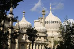 Royal Pavilion at Brighton. East Sussex. England - stock photo