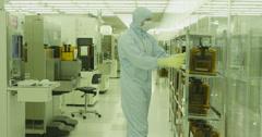 Scientific Engineering 01 4K - stock footage