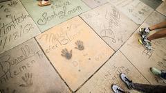 Historic Hollywood Stars Kuvituskuvat