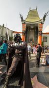 Darth Vader Hollywoodissa Kuvituskuvat