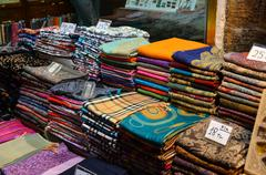 egyptian bazaar, istanbul - stock photo