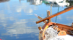 Dock reflection Stock Footage
