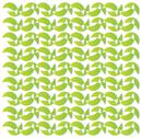 Stock Illustration of lime green crescent moon pattern