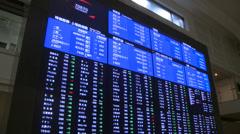 Stock Video Footage of Tokyo Stock Exchange
