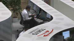 Tokyo Stock Exchange Stock Footage