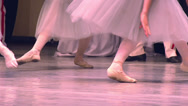 Stock Video Footage of Three Dancers Ballet