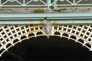 Stock Photo of Detail on colonnade. Brighton