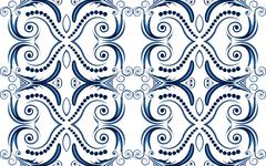 Stock Illustration of abstract ornament background.