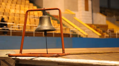 Bell on Velodrome Stock Footage