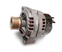 automotive alternator - stock photo