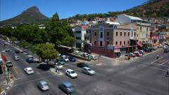 CAPE TOWN_CROSSING Stock Footage
