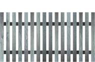 Stock Illustration of blue wood fence design