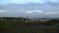 Rome, Vatican, Zoom- 002 Stock Footage