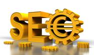 Stock Illustration of seo tag with gears