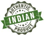 Stock Illustration of indian product green grunge retro style isolated seal