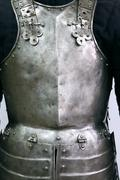 ancient armour - stock photo