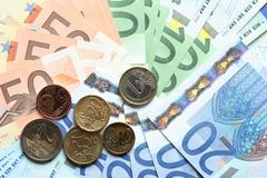 European union currency Stock Photos