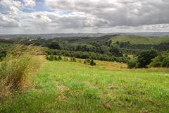 australian countryside - stock photo
