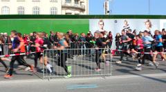 Marathon Championship Stock Footage