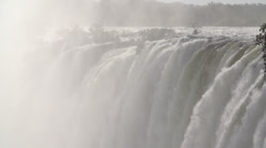 Stock Video Footage of Slow Motion Victoria Falls, Africa