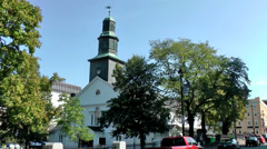 Halifax Nova Scotia New Scotland Canada 063 Argyle Street St. Paul's Church Stock Footage