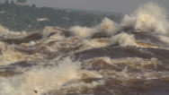 Stock Video Footage of Congo River close-up slow pan from left to right