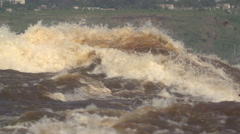 Slow Motion Congo River, Africa Stock Footage