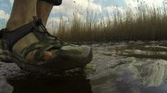 Go underwater Stock Footage